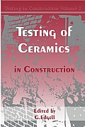 Testing in Ceramics in Construction Cover
